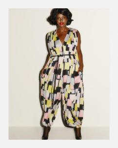 Times Squares I Jumpsuit im Retro-Look I Credits: Beth Ditto