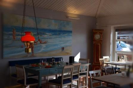 Eine Strandgaststätte zum rundum Wohlfühlen