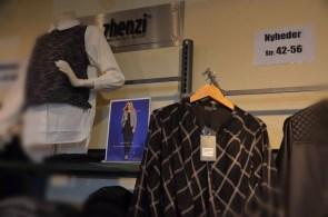 Plus Size Mode in der Ladenzeile von Lakolk I Am Abend gab es eine Modenschau