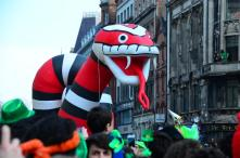 Fotos von der Parade zum Saint Paddys Day I Dublin