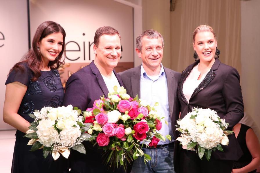 Blumen für die Ladies und den Designer :-)