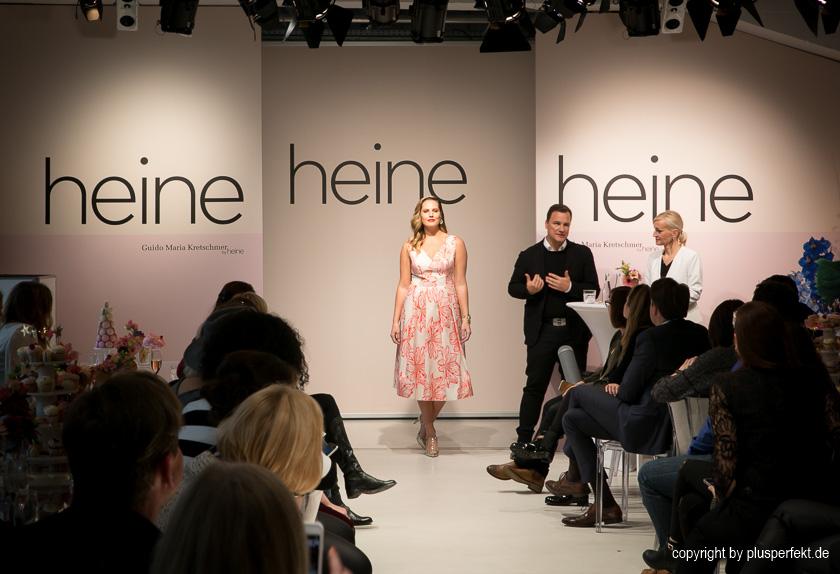 Guido Maria Kretschmer präsentiert seine Plus Size Kollektion für Heine I Credits: PlusPerfekt