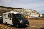 Die Kreidefelsen von Dover im Hintergrund I Bild: PlusPerfekt.de