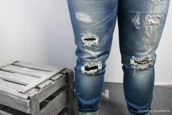 Vintage-Jeans von Maxima in Plus Size