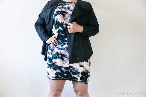 Rose zu Blau I Als Kleid oder auch als Longshirt tragbar