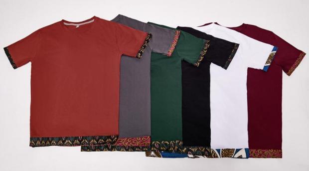 T-Shirts für Herren I Produziert in Malawi