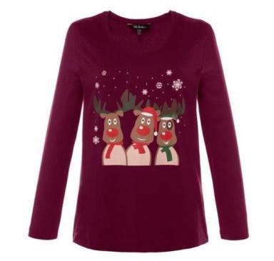 Weihnachtsshirts für Curvys   Credits: Ulla Popken
