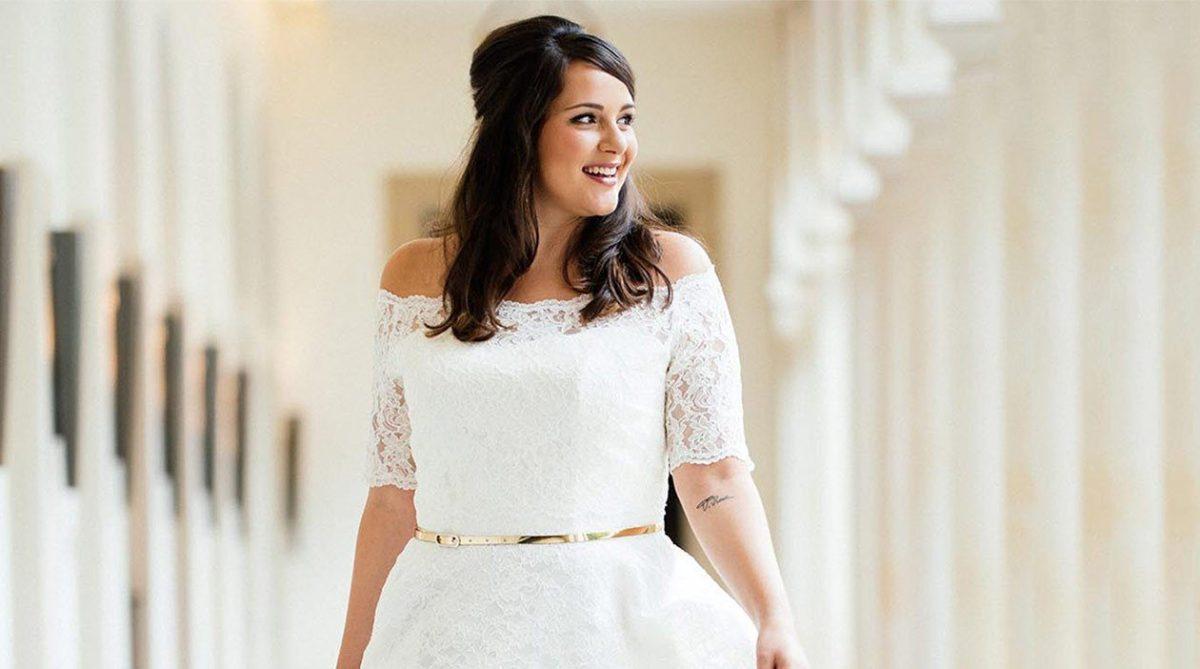 Brautmoden-Trends 2019: Boho-Style und Vintage-Looks für Curvys
