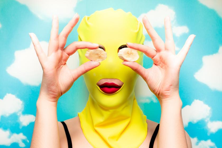 Gesichtsmaske mal anders