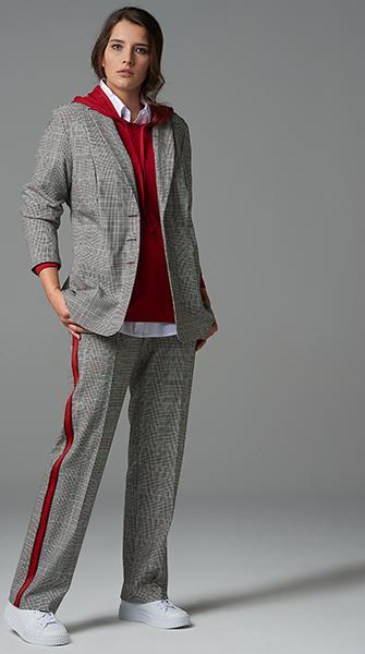 Kariert all over   Blazer und Hose von Verpass Fashion - Credits: Verpass