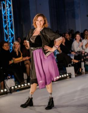 Auf dem Runway der Diversity Fashion Days