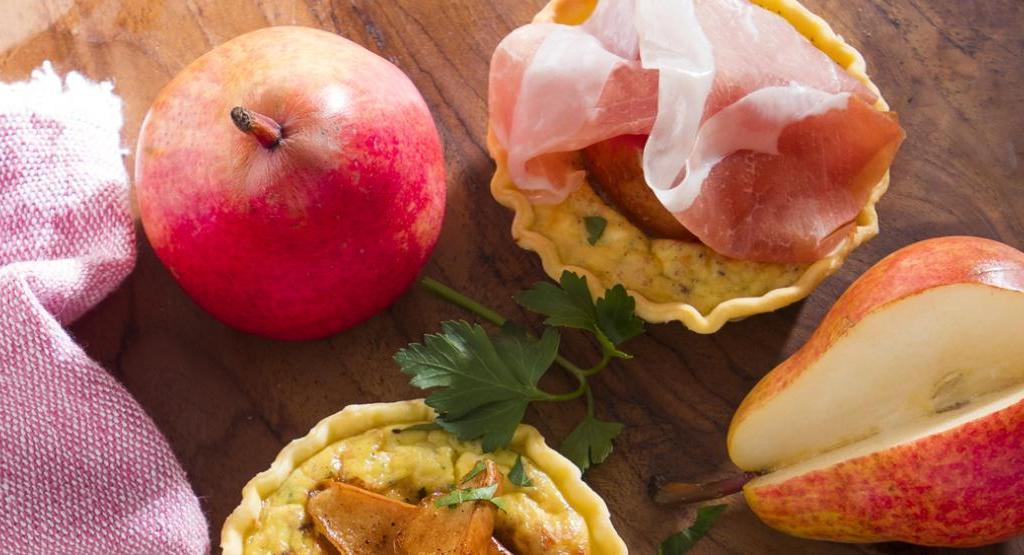 Quick & Easy: Mini-Quiche mit Birne und Parmaschinken | Foto: Consorzio del Prosciutto di Parma