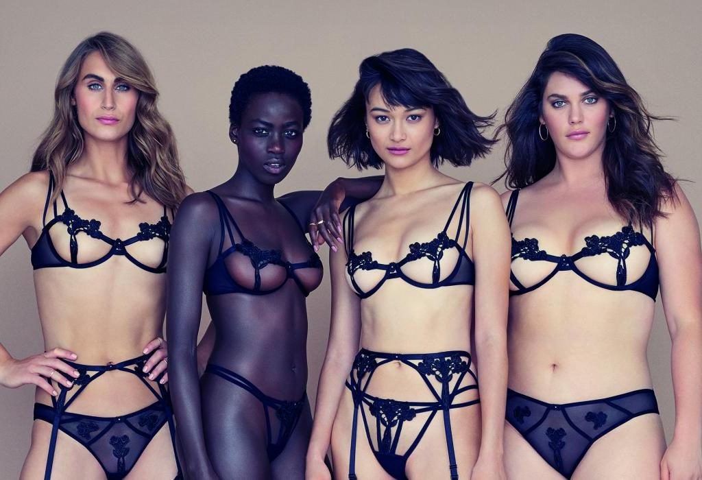 Lingerie von Bluebella for Victoria's Secret | Models collection | Credits: Victoria's Secret