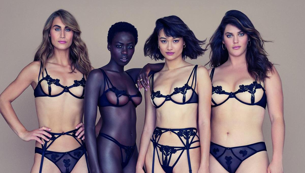 Lingerie von Bluebella for Victoria's Secret | Models collection | Credits: Victoria's Secret
