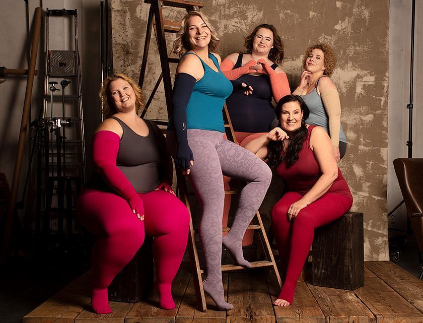 Models: Caroline Sprott, Christiane Dillich, Nina Uhlenbrock, Tanja Denise Ahrens, Carina Sberg Hair & Make-up: Jasmin Fronholt Fotografin: Silvana Denker