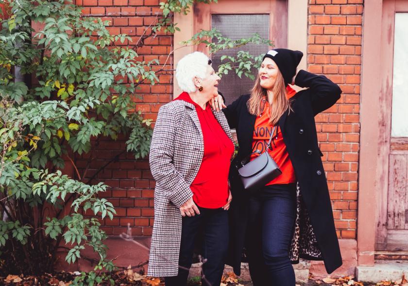 Wenn die Oma mit der Enkelin - Eine Stylechallenge der besonderen Art