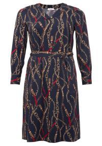 Kleid mit Kettenprint für Mollige | Sheego