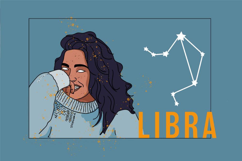 Jahreshoroskop Zodiac Libra | Das Sternzeichen Waage | PopArt by Ann-Christin Scharf | PlusPerfekt
