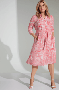 Kleid mit kleinem Volant   Samoon
