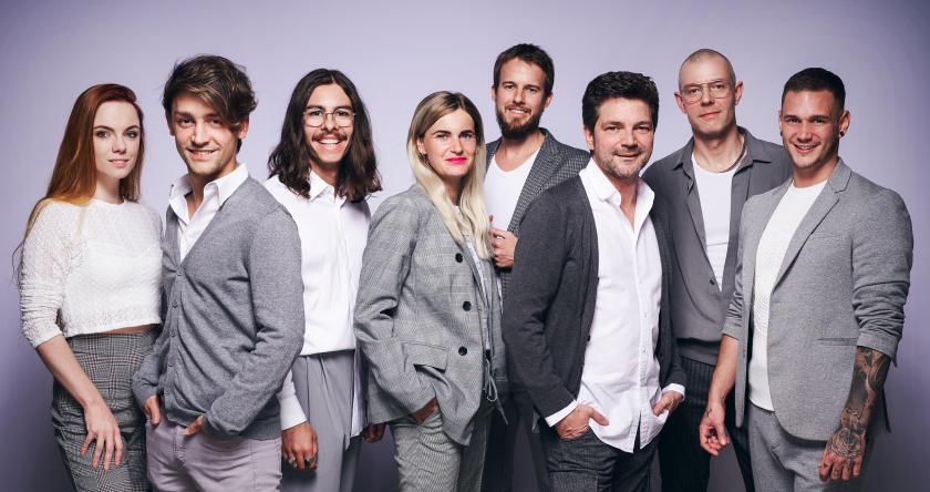 Das Modeteam des Zentralverbandes des Deutschen Friseurhandwerks | Foto: Mario Naegler
