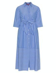 Dress in Hellblau mit weißen Streifen von Marina Rinaldi Sport