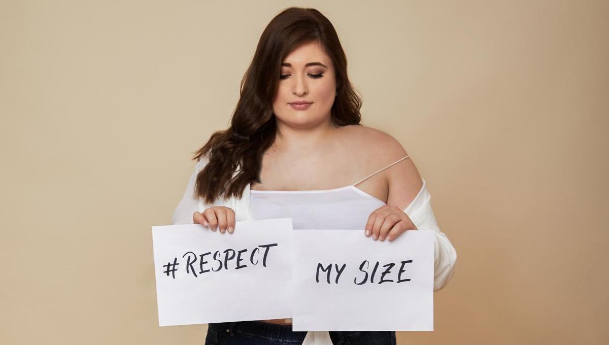 Gegen Gewichtsdiskriminierung: #RespectMySize | #GemeinsamGegenVorurteile | #GemeinsamFürMehrVielfalt | Initiatorinnen Julia Kremer @schoenwild und Verena Prechtl @ms_wunderbar