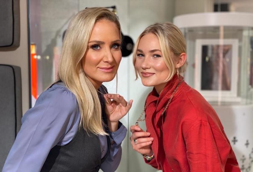 Janine Kunze & Tochter Lili   Credit: Lilou