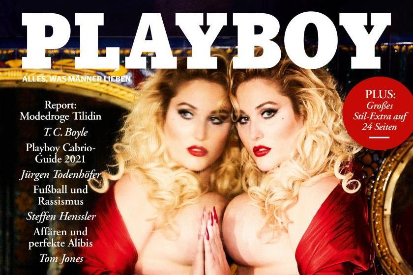 Curvy Model Hayley Hasselhoff auf dem Cover der Mai-Ausgabe des Playboys | Fotocredit: Ellen von Unwerth