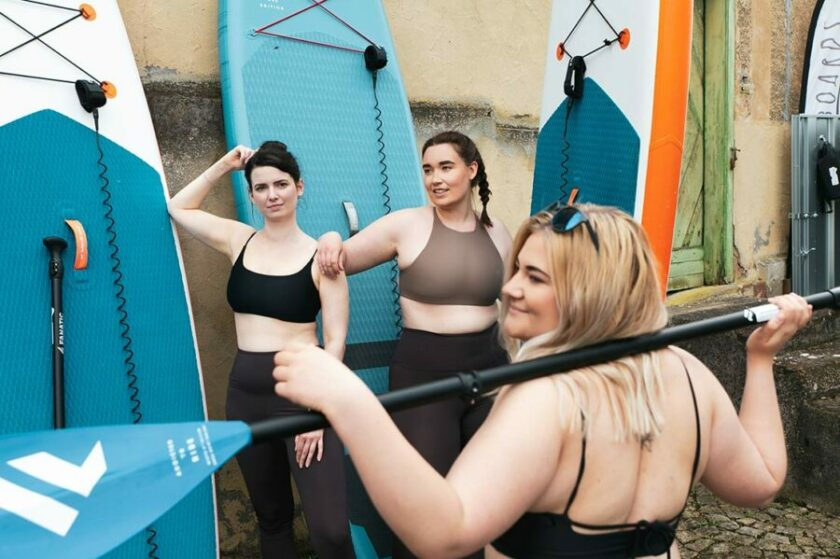 SUP - Trendsport Stand-Up-Paddling bei Main-Board in Zellingen