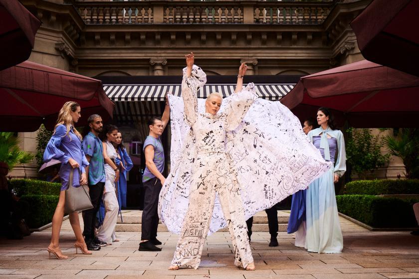 Frankfurt Fashion Week: Anja Gockel & der Strand liegt unter dem Asphalt