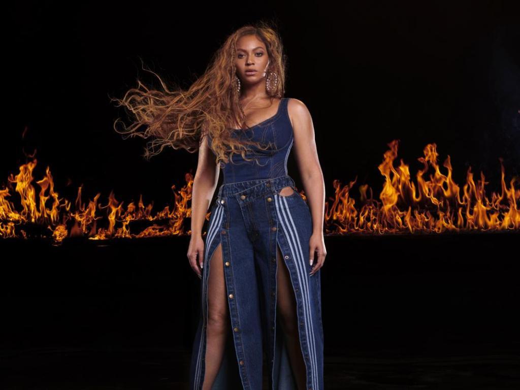 Kuhmuster & Rodeo sind angesagt! Beyonce für ihre eigene Kollektion Adidas X IvyPark Rodeo | PR-adidas IVP Drop4 Hero-Imagery