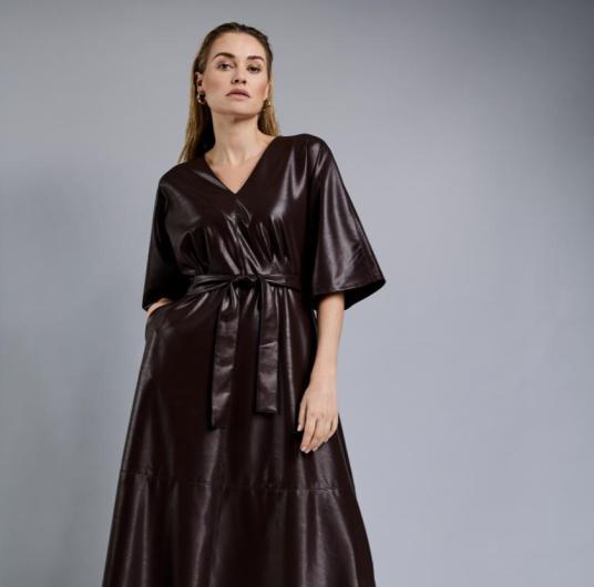 """Trendfarbe """"Gebranntes Braun""""   Kleid von Gerry Weber"""