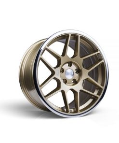 3SDM wheels 0.09 Gold Polished Lip