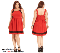 Junior Plus Size Clubwear Dresses Online Red Junior Plus ...