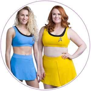 Plus Size Star Trek Swimsuit Two-Piece
