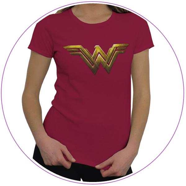 Plus Size Wonder Woman Justice League T-shirt