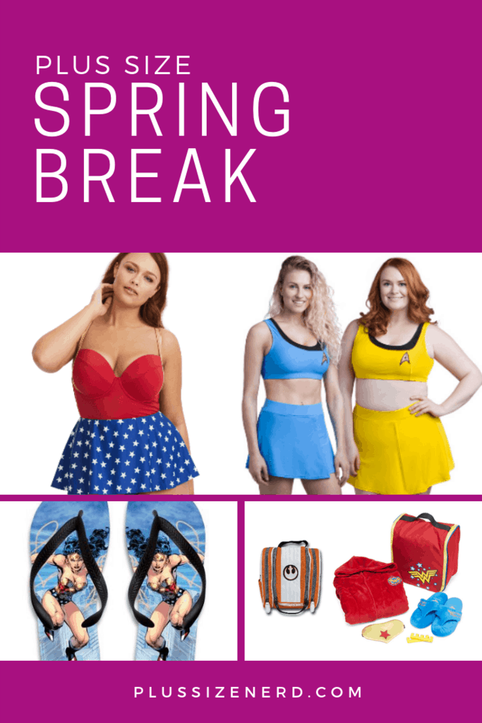Spring Break: Packing List for the Plus Size Nerd