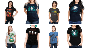 Plus Size Video Game T-shirts