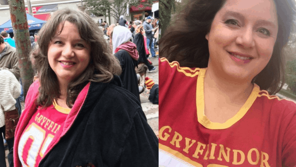 Plus Size Gryffindor Robe and Quidditch Shirt