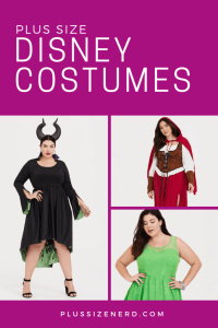 Plus Size Disney Costumes for Halloween