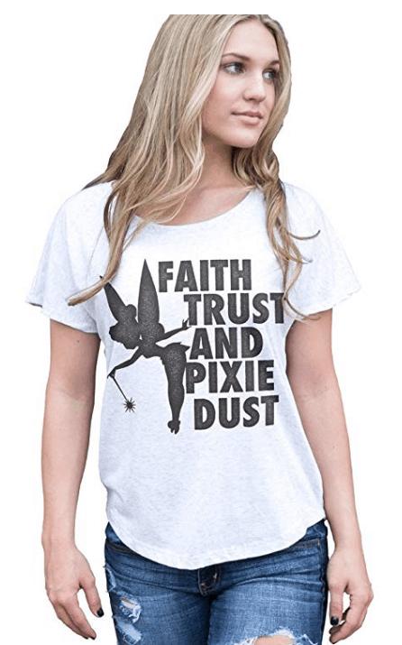 Plus Size Tinker Bell T-shirt