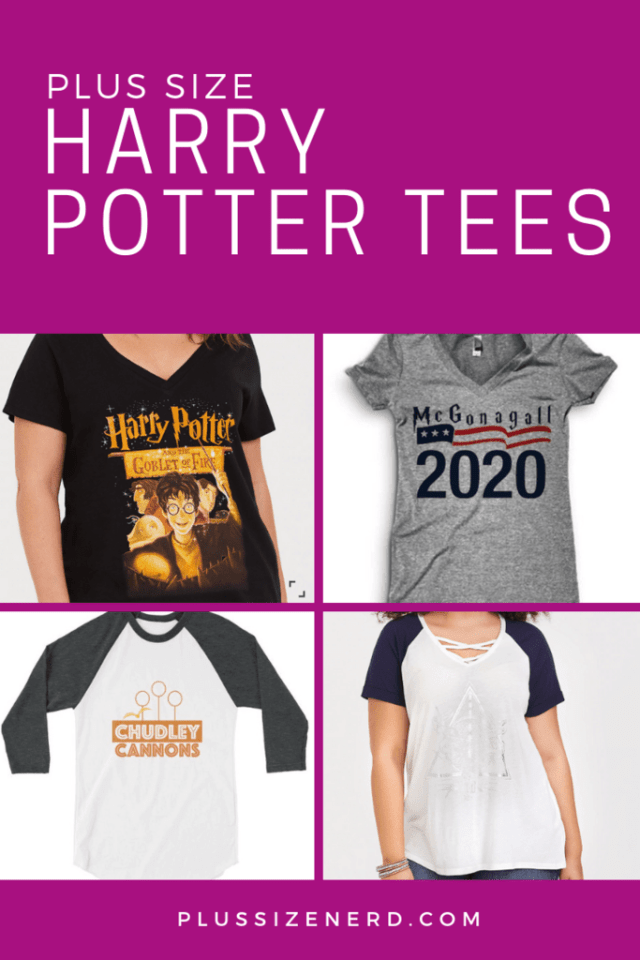 Collage of Harry Potter T-shirts