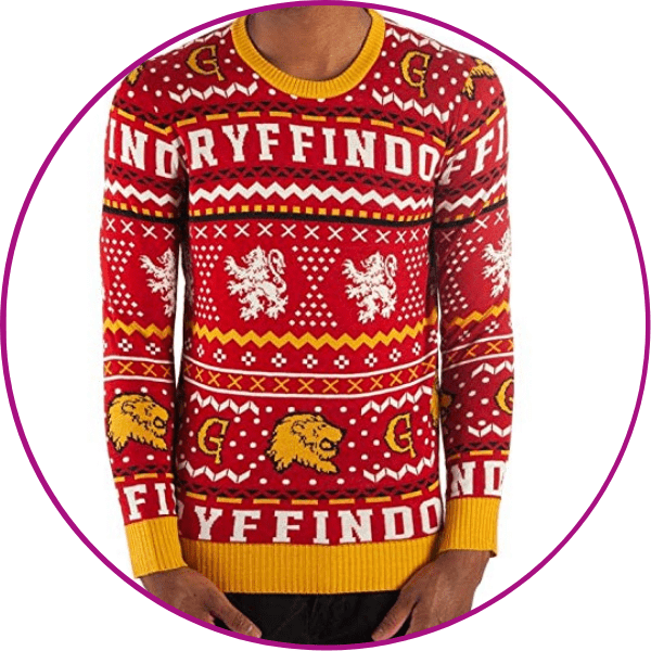 Gryffindor Ugly Christmas Sweater