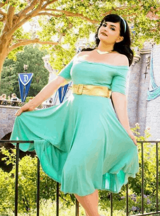 Plus Size Aurora Dress