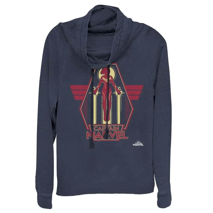 Plus Size Captain Marvel Sweatshirtq