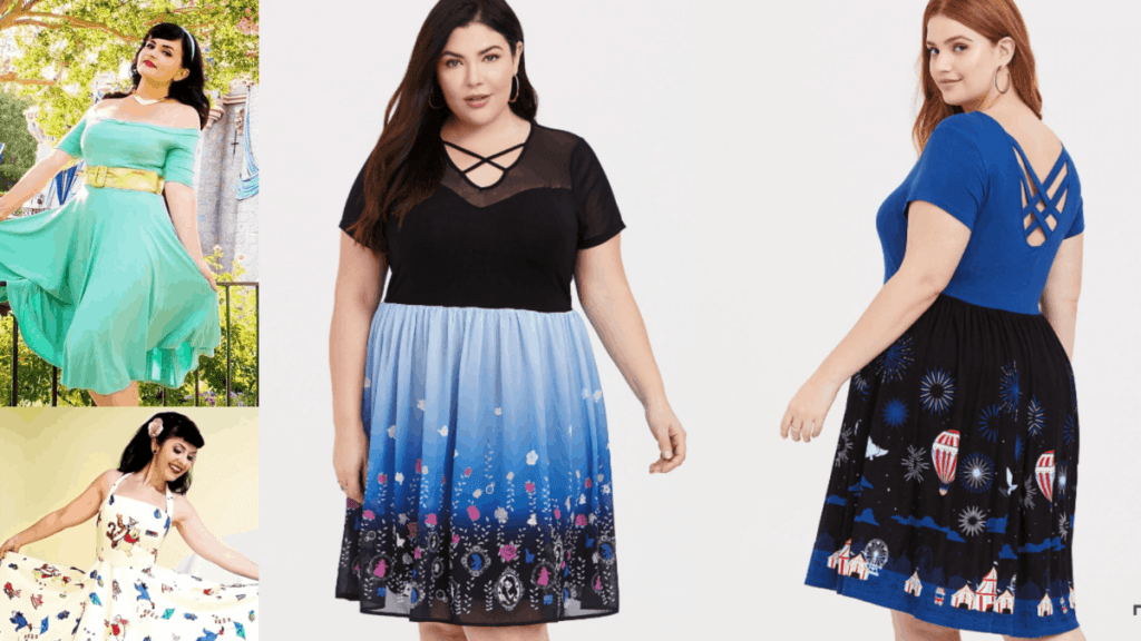 Find a Magical Plus Size Disney Dress