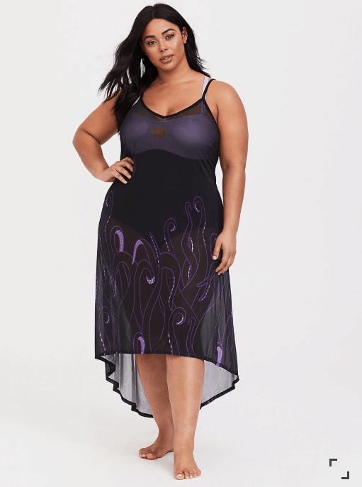 Plus Size Ursula Cover Up