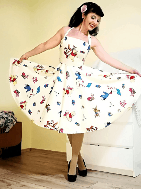 Plus Size Winnie the Pooh Dress