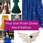 Plus Size Prom Dress for Nerds