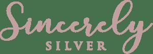 Sincerely Silver Logo